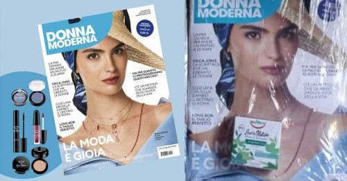 """Donna moderna con make up Equilibra """"Love's Nature"""""""