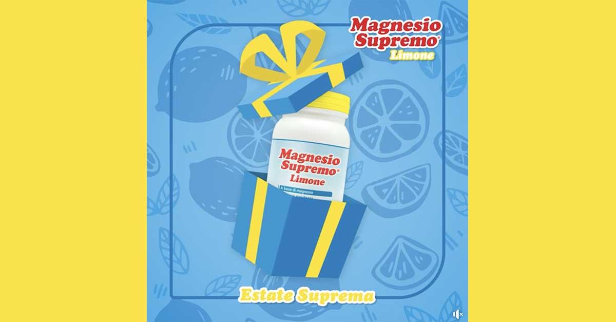 Campioni omaggio Magnesio Supremo Limone