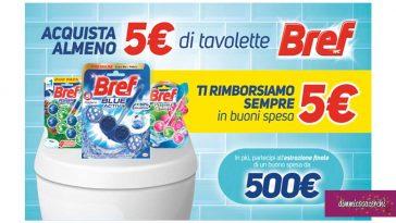 Cashback Bref Buono Spesa 5€