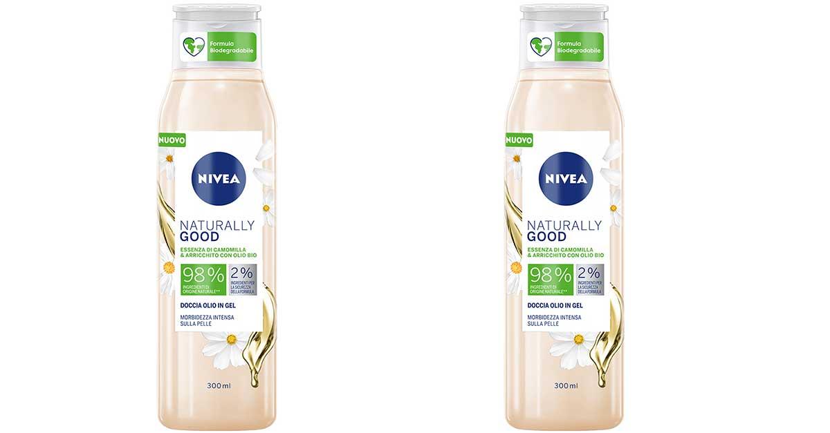 Diventa tester NIVEA doccia olio in Naturally Good in gel