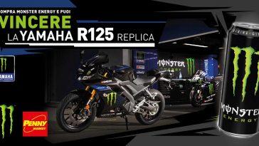 Monster Energy: vinci Yamaha R125 replica