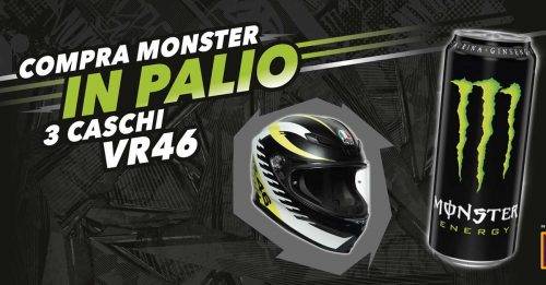 Monster Energy: vinci casco VR46