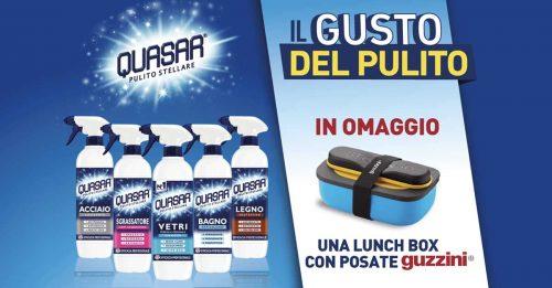 """Quasar """"Il gusto del pulito"""""""