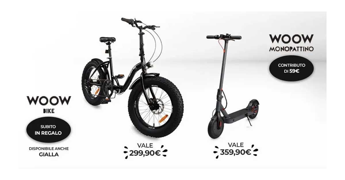 Unieuro ti regala la WOOW Bike