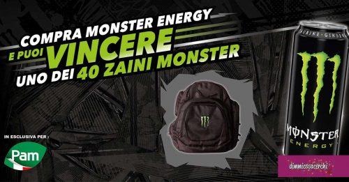Vinci gli zaini Monster