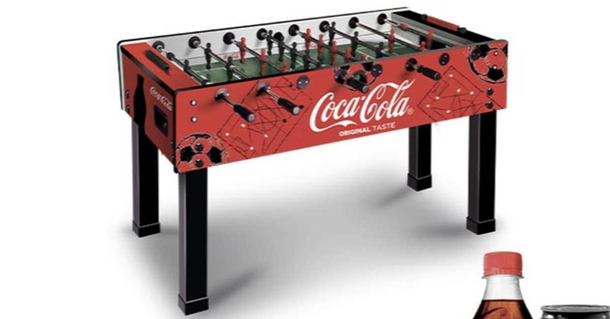 Vinci il biliardino Coca‑Cola