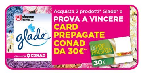 """""""Vinci con Glade card per la spesa Conad"""""""