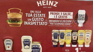 Cashback salse Heinz