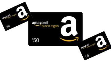 Concorso Amazon: vinci buoni spesa