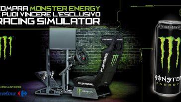 Monster: vinci racing simulator