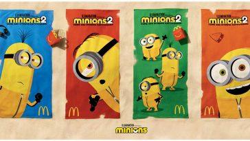 Teli mare Minions da McDonald's