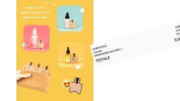 Campioni omaggio Freshly Cosmetics