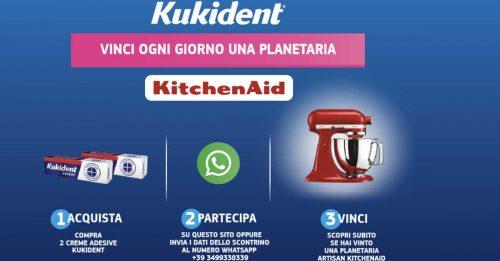 """Concorso Kukident """"Vinci una planetaria al giorno"""