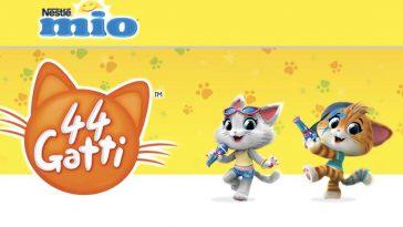 """Concorso """"Mio e baby Food 44 gatti"""