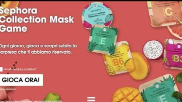 Concorso Sephora Collection Mask Game