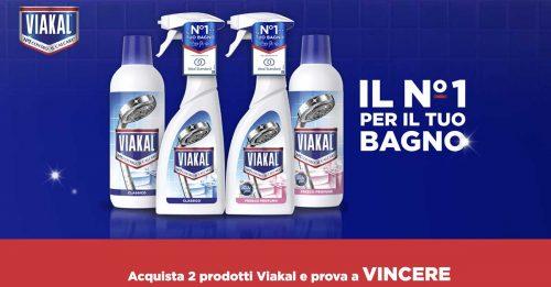 Vinci un bagno con Viakal
