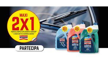"""Cashback Arexons """"Maxi 2×1"""
