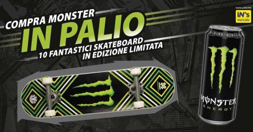 Monster: vinci Skateboard in edizione limitata