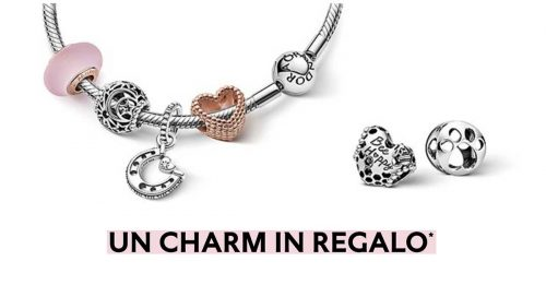 Pandora charm in regalo