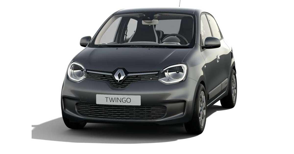 """Renault Twingo Life E-Tech Electric MY21 di colore """"Black Etoile"""""""