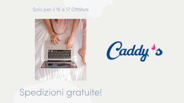 caddys spedizione gratuita